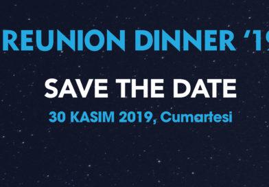 Reunion Dinner '19