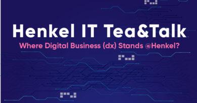 10 Haziran Perşembe Günü, Henkel IT ekibi ile biraraya geliyoruz.