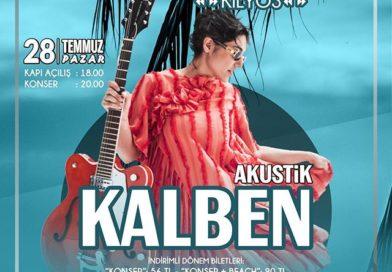 KALBEN Burc Beach'de