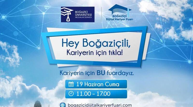 2019 Yılı Mezunu Olarak Boğaziçi Dijital Kariyer Fuarı'nda Sen de Yerini Al!